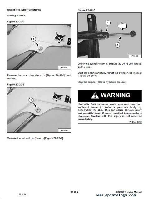 bobcat  compact excavator service manual