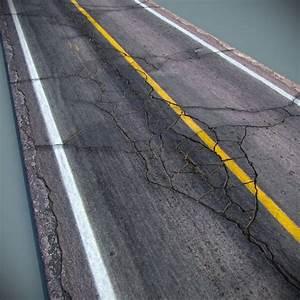 max cracked asphalt road | Texture Painting | Pinterest
