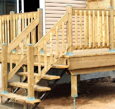 Decking Handrail Brackets deck hardware wood deck railing
