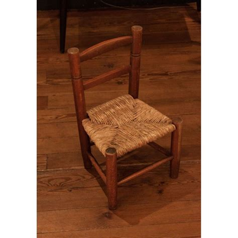 chaise paillée chaise paillée enfant