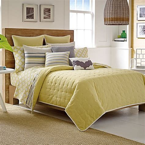 Yellow Quilts And Coverlets by 174 Shelford Coverlet In Yellow Bed Bath Beyond
