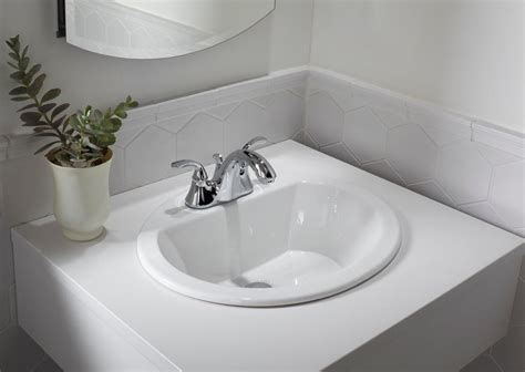 Bathroom Sink by Porcelain Ceramic Vanity Drop In Bathroom Vessel Sink 19