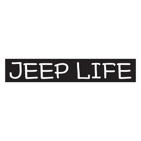 All Things Jeep Jeep Life Decal