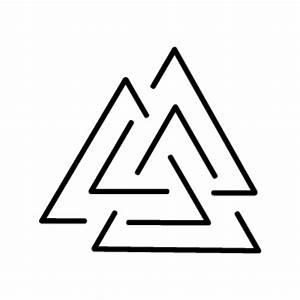 Symbole Mythologie Nordique : tatouage valknut ~ Melissatoandfro.com Idées de Décoration