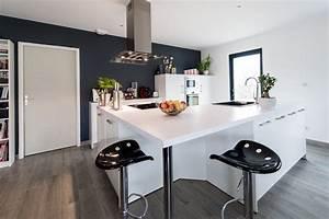 table de cuisine avec plan de travail photo la cuisine With table de cuisine avec plan de travail