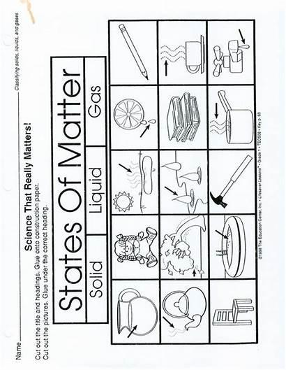 Worksheets Science Liquids Solids Gases Matter Worksheet