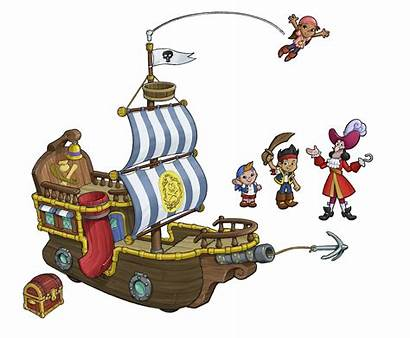 Jake Pirates Neverland Bucky Pirate Ship Disney