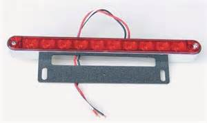 install a motorcycle led brake light bar quarto drives