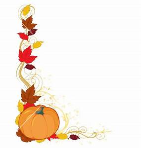 Fall Leaves And Pumpkin Clip Art - Cliparts.co