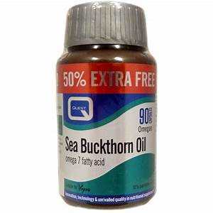 Quest Sea Buckthorn Oil Capsules Choice Of Pack Sizes One