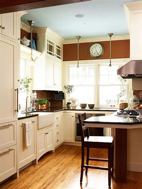 small kitchens  homes gardens
