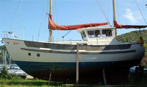 fisher motor sailer fisher  motorsailer boats