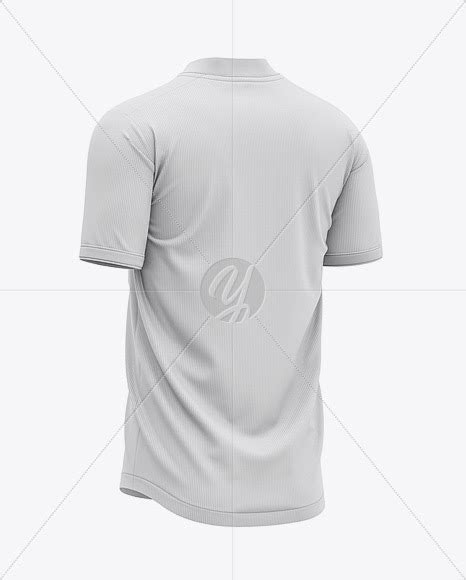 Including multiple different angles and views with clean empty space to add your own design on top of the free mockup. Download Men's Henley Collar Soccer Jersey Mockup - Back ...