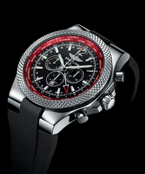 bentley breitling limited edition breitling for bentley gmt v8 chornograph