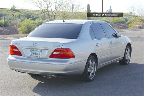 lexus sedan 2001 2001 lexus ls430 base sedan 4 door 4 3l with luxury package