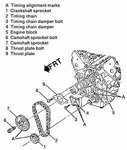 Timing Chain Kit 3 4l Impala 00