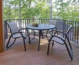 telescope patio furniture telescope casual maxx sling four position lay flat