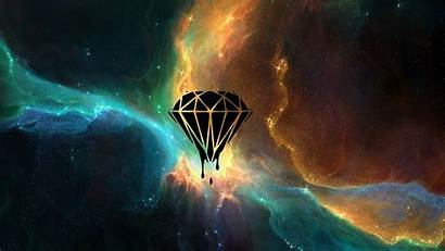 Space Nebula Diamonds Desktop Tylercreatesworlds Backgrounds Wallpapers