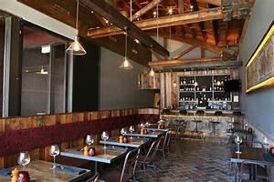 rustic restaurant designs | At Leslie Saul & Associates ...