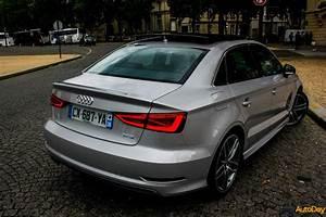 Audi A3 Berline 2017 : essai audi a3 berline 1 8 tfsi 180ch une mini a4 un maximum de charme autoday ~ Medecine-chirurgie-esthetiques.com Avis de Voitures