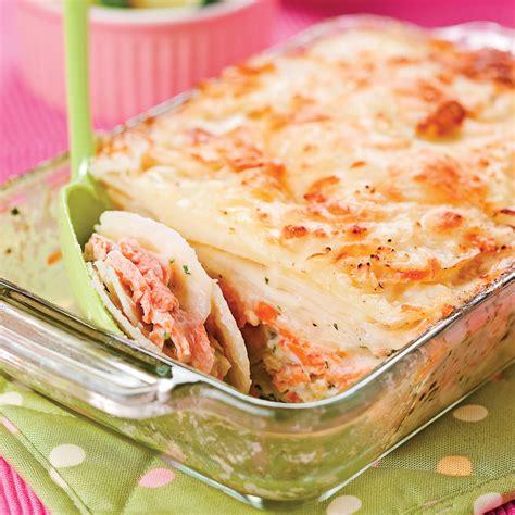 cuisine recettes pratiques gratin de saumon recettes cuisine et nutrition