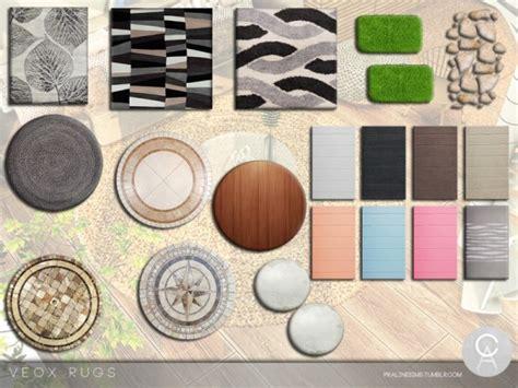 sims resource veox rugs  pralinesims sims  downloads