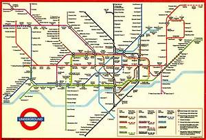 Sublime Design  The London Underground Map