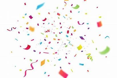 Confetti Celebration Confettis Birthday Freepik Sfondo Coriandoli