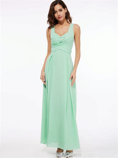 ericdress chic solid color maxi dress 12150631 ericdress