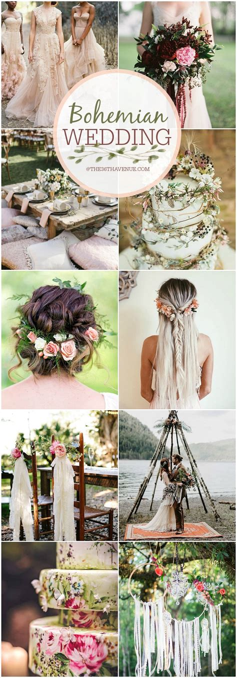 bohemian wedding ideas diy boho chic wedding the 36th