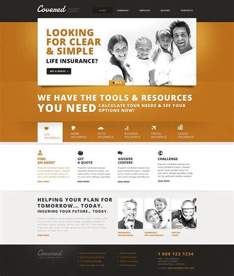 Get 1,337 insurance website templates on themeforest. Insurance Responsive Website Template #44748