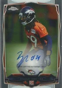topps chrome football rookie autographs guide