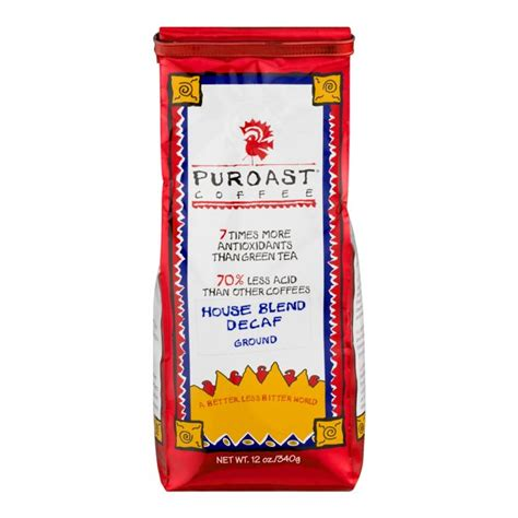 632 south miami avenue майами, fl 33130 сша. Puroast Decaf House Blend Low Acid Ground Coffee, 12 oz Bag - Walmart.com - Walmart.com