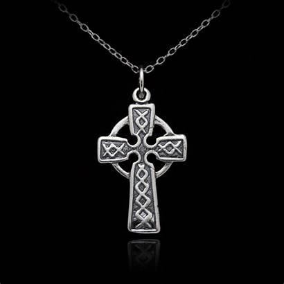 Charm Wholesale Celtic Sterling Cross Necklace