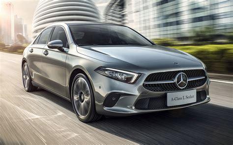 Mercedes A Class Wallpapers by 2019 Mercedes A Class Sedan Cn Wallpapers