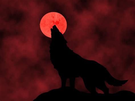 Alpha Wolf Blood Moon Wolf Wallpaper by Imvu Blood Wolf Clan