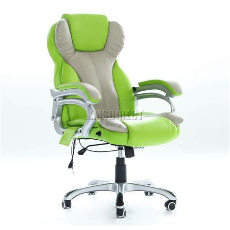 chaise informatique foxhunter luxe 6 points bureau chaise ordinateur