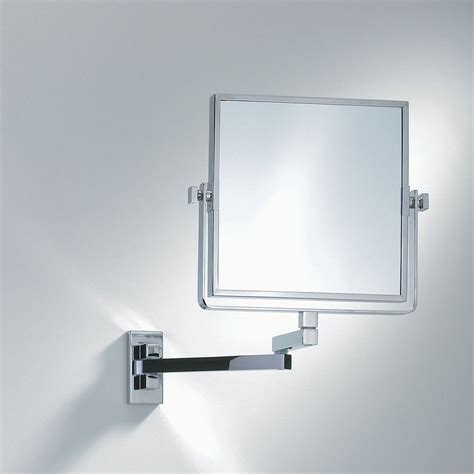 Extending Bathroom Mirrors by Decor Walther Wall Mounted Square Extendable Mirror