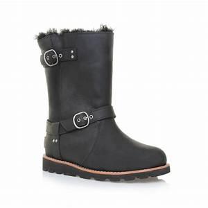 Ugg Boots : ugg noira engineer boots in black lyst ~ Eleganceandgraceweddings.com Haus und Dekorationen