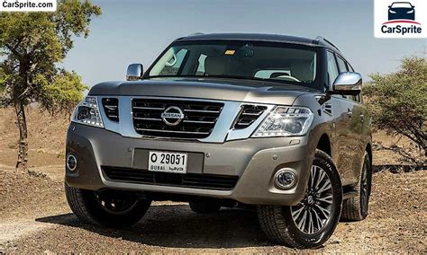 nissan patrol  prices  specifications  uae car