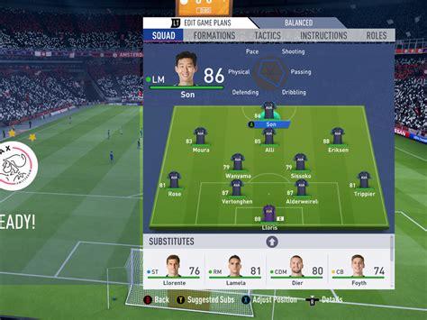 Chelsea Vs Tottenham Formation Today