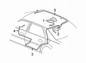 Cadillac Deville Antenna Cable  System  Navigation