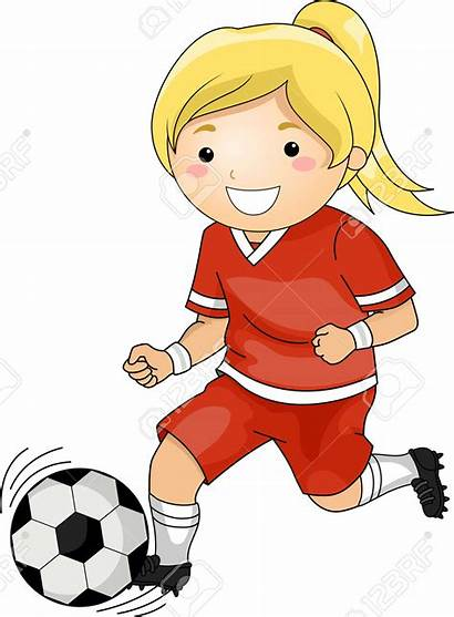 Soccer Playing Clipart Player Cartoon Clip Cliparts