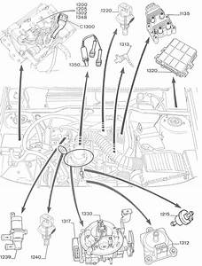 405 Engine Diagram Part Number