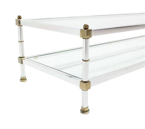 rectangle tables for sale chrome brass glass top rectangular coffee table for sale