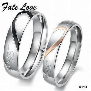 Aliexpresscom buy his and hers promise ring sets for Promise ring engagement ring and wedding band set