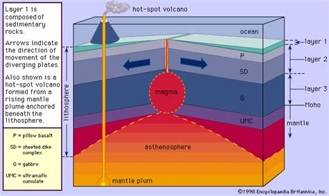 Where Does Seafloor Spreading Take Place by 8b 9 Plate Boundary Images And Captions