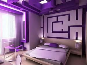 Simple, Ideas, For, Purple, Room, Design