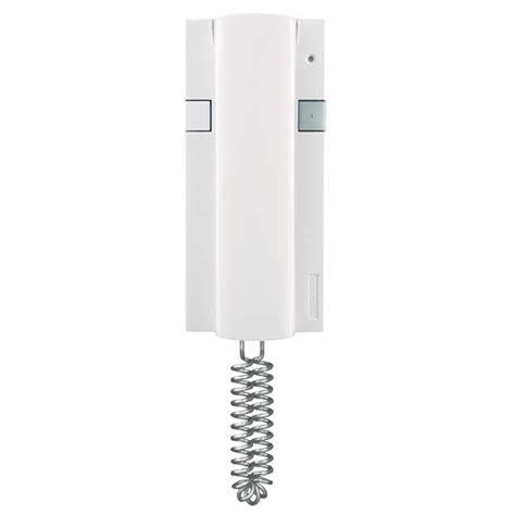 comelit 2608 basic version white handset for digital simplebus