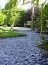 decorative garden slate aggregate - Google Search slate garden landscaping